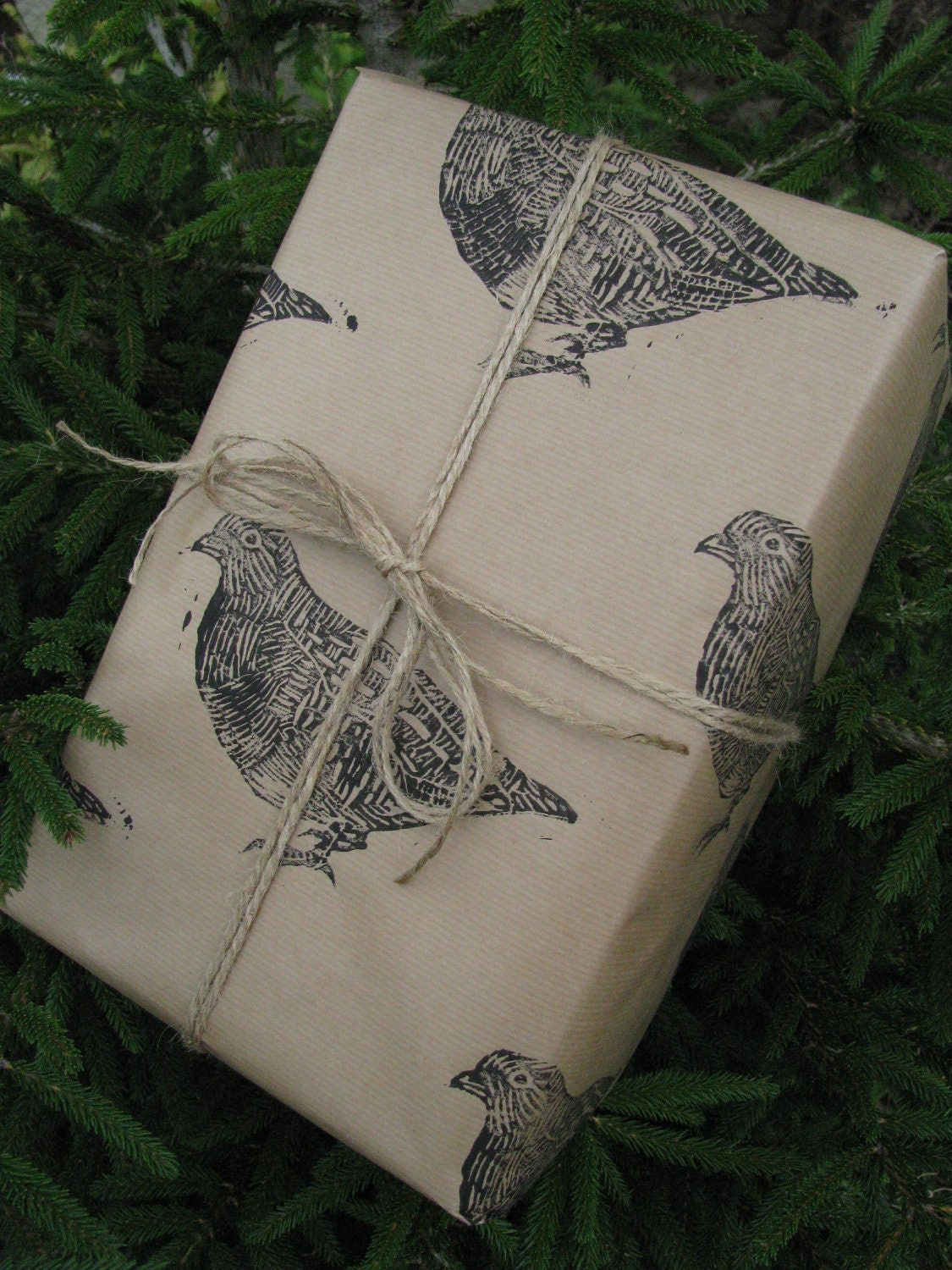 Partridge Christmas Gift Wrap - One Sheet