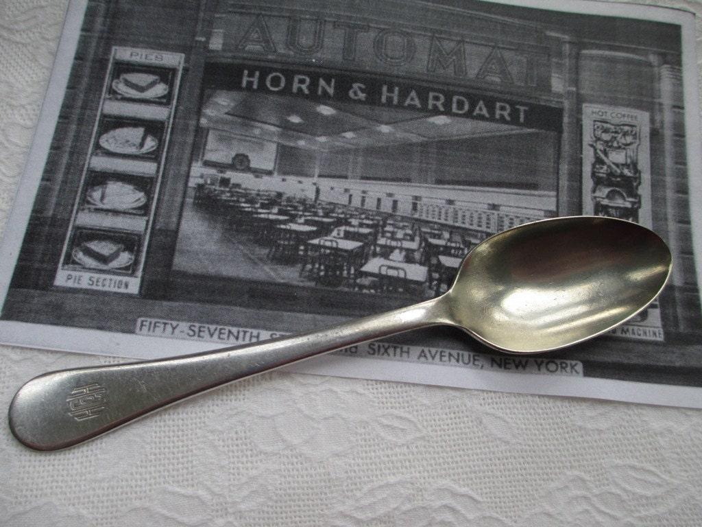 Restaurant Spoon Horn & Hardart Automat NYC Silverplate Teaspoon ...