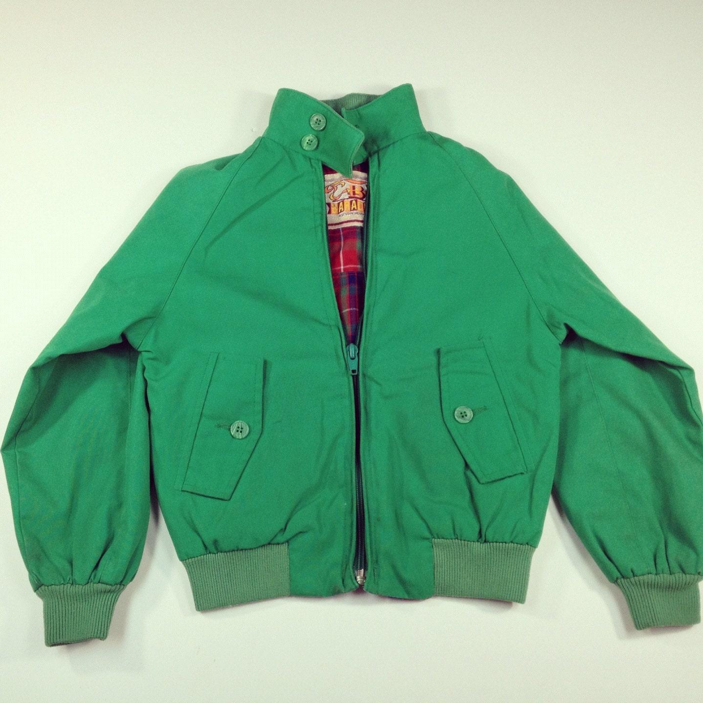 Vintage Baracuta by Van Heusen Jacket - Green - 6 (Children's) - familythreadla
