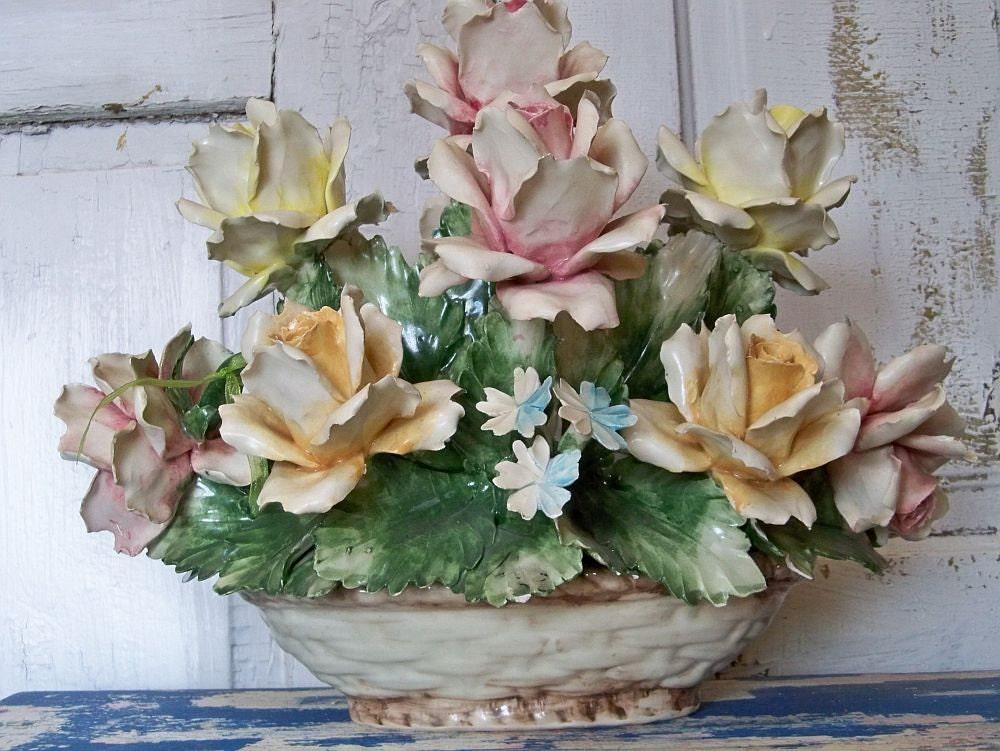 Collectible Italian Capodimonte Porcelain By Anitasperodesign