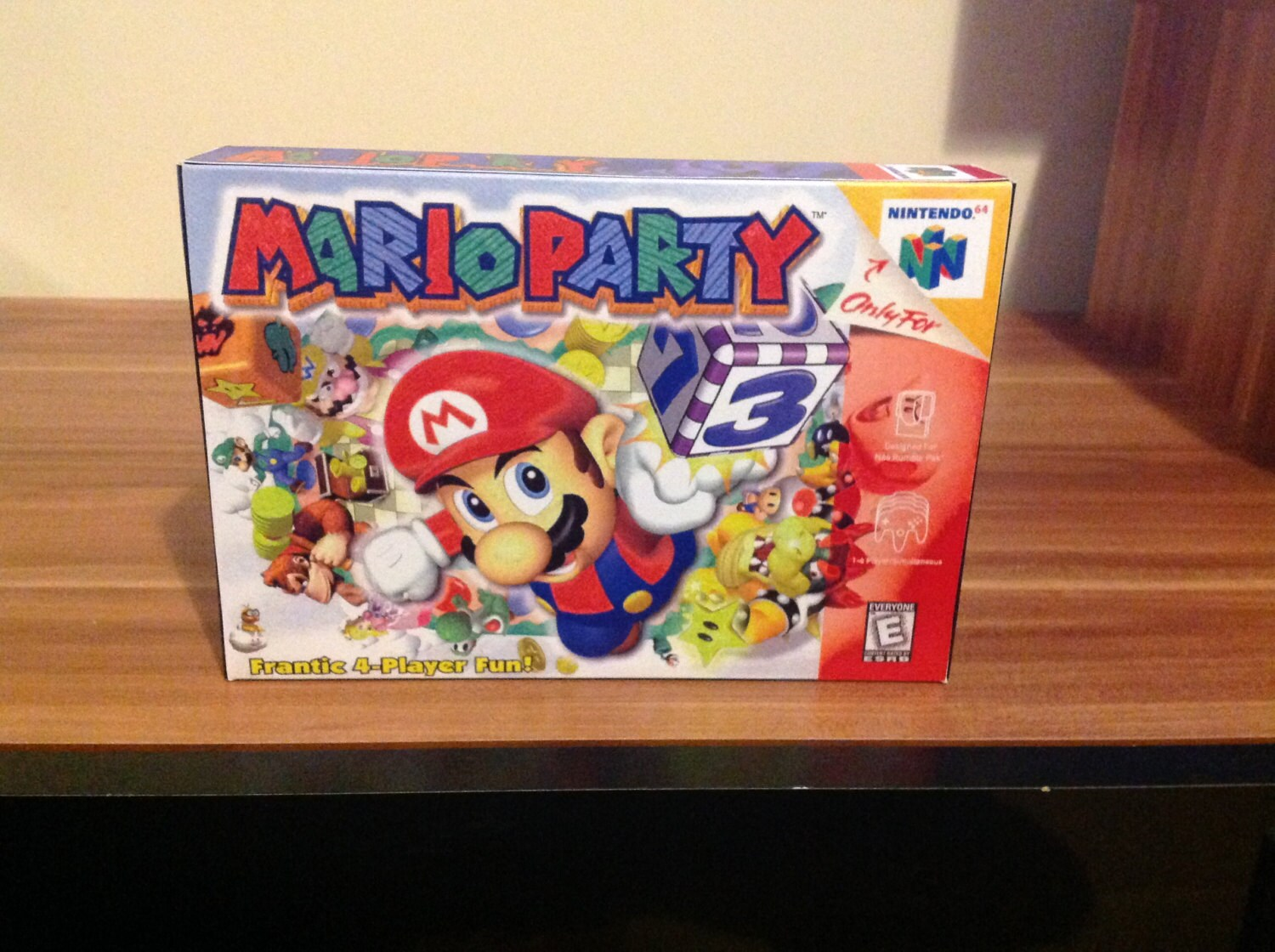 N64 Mario Party   Repro Box and Insert NO Game Included