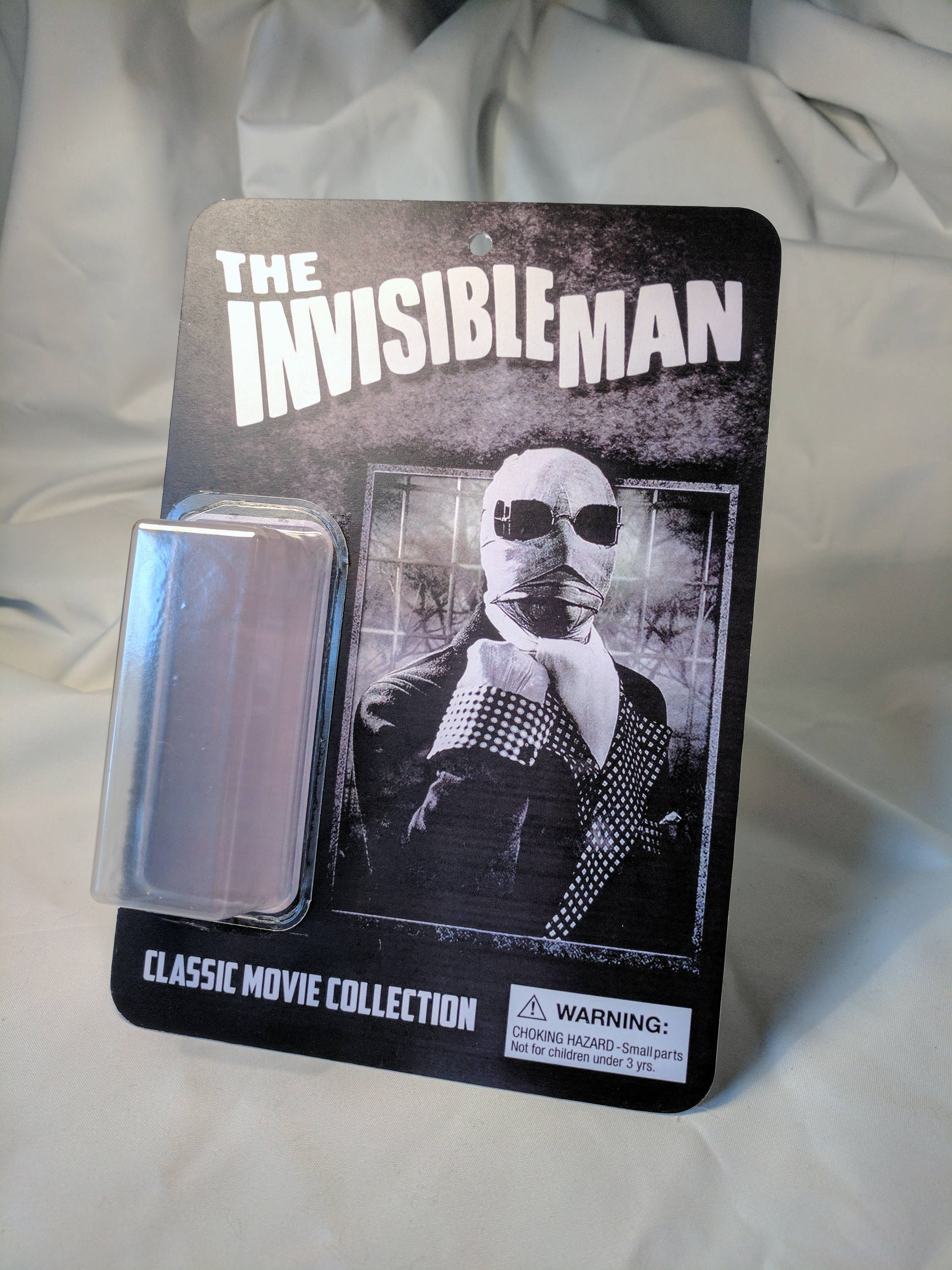 The Invisible Man action figure