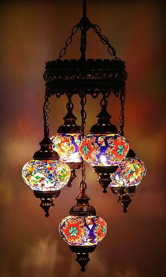 Как сделать восточную лампу своими руками 649