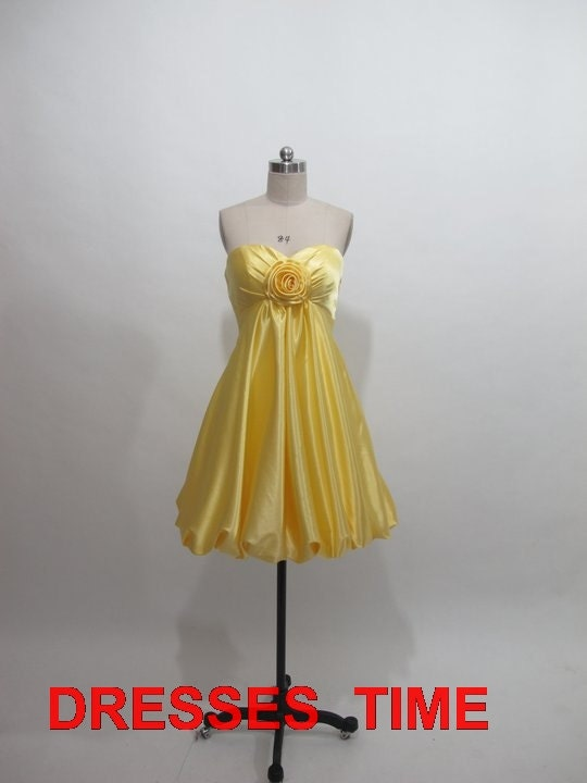 Etsy your place to buy and sell all things handmade for Yellow wedding guest dress
