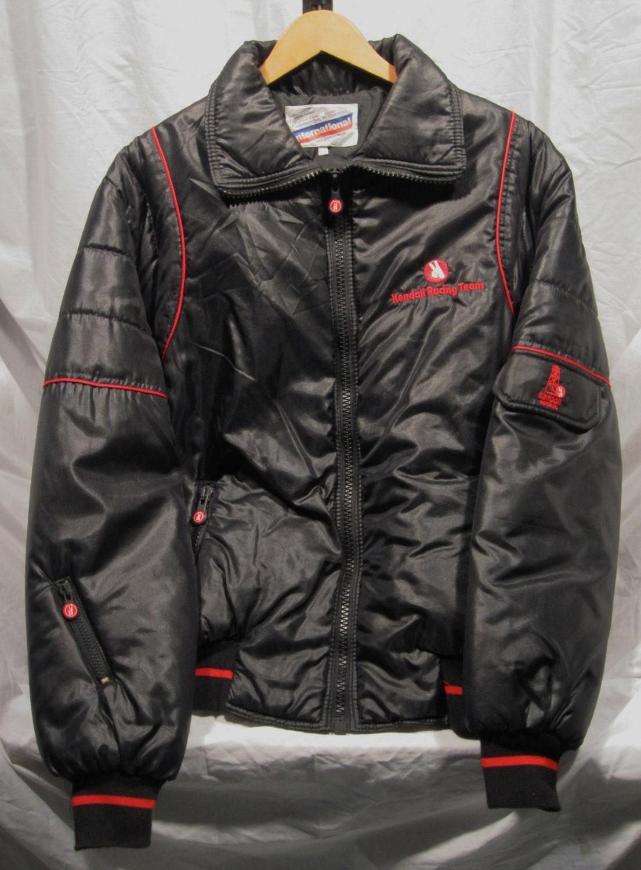 Vintage Kendall Motor Oil Racing Team Nylon Jacket Medium