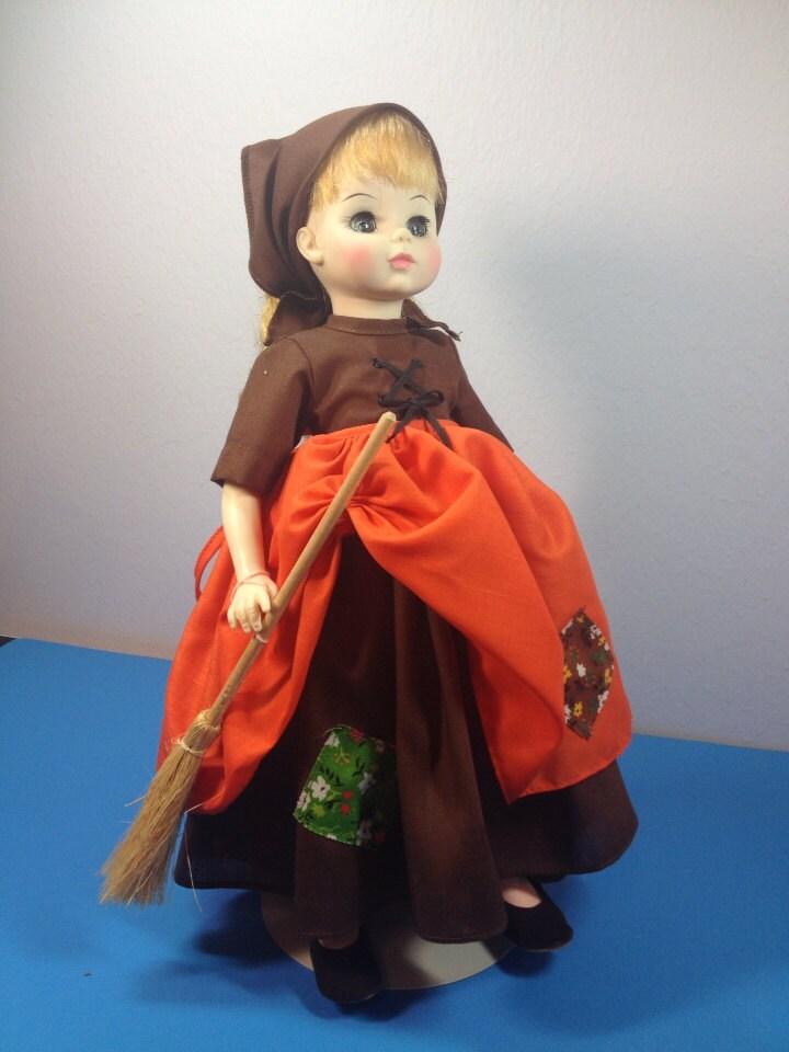 "Vintage Madame Alexander POOR CINDERELLA in Rags #1540 14"""