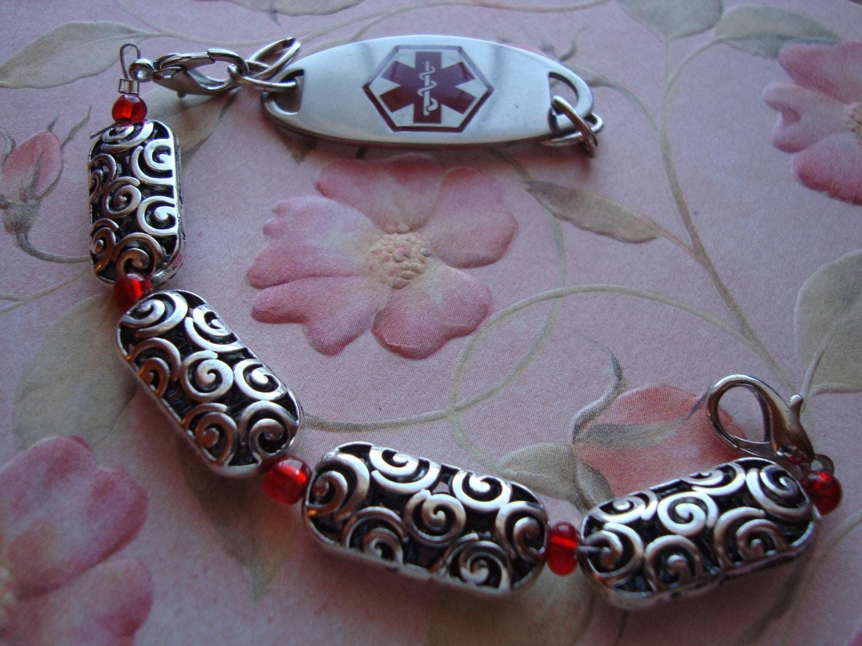SimplySTuningEtc. Handmade Bracelets, and Medical Alert interchangeable Bracelets - SimplyStunningetc