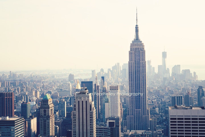 New York City Photo - 8x12 Fine Art Photography, NYC, Empire State Building Photo, cityscape, New York City Photo, skyline, Manhattan, urban