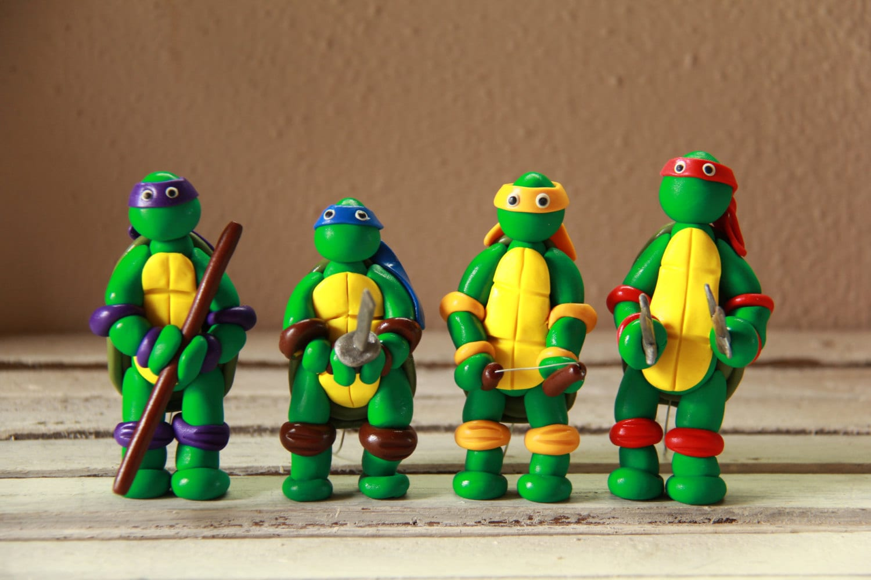 Ninja Turtles Birthday Cake Toppers Image Inspiration of Cake and