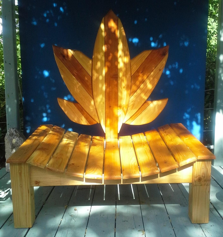 Items Similar To Wood Lotus Meditation Chair Handmade