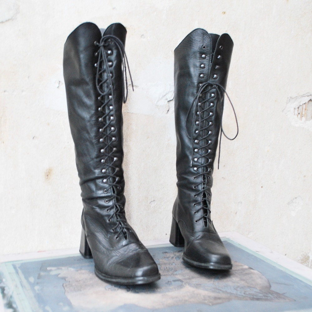 You searched for: lace up boots! Etsy is the home to thousands of handmade, vintage, and one-of-a-kind products and gifts related to your search. No matter what you're looking for or where you are in the world, our global marketplace of sellers can help you find unique and affordable options. Let's get started!