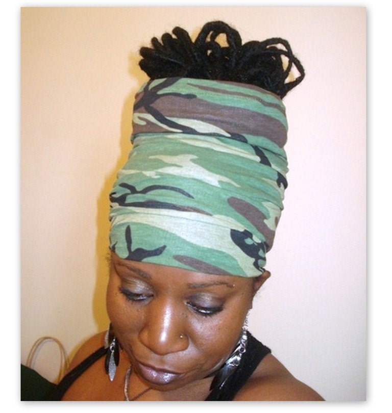 Camouflage Locs - Hair Hugger - SKU: WWJ00