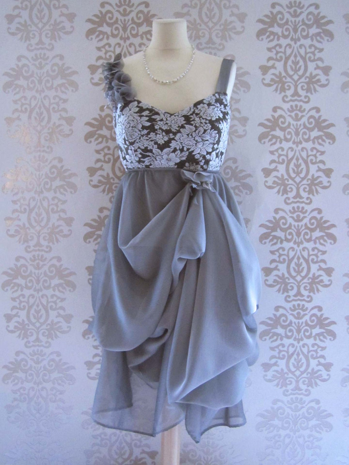 Items Similar To Party Dress Handmade Wedding Reception Dress Holiday Fashion
