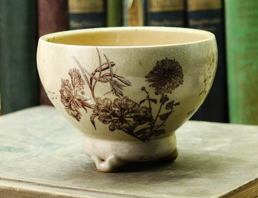 Soup Bowl - Flowers