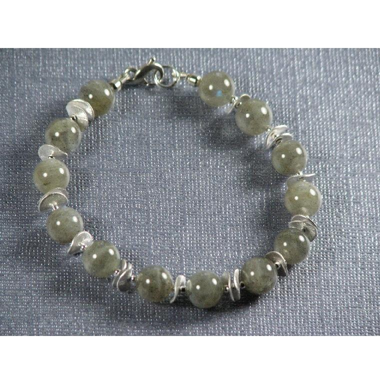 Men's Silver Spring Bracelet with Free Shipping in US