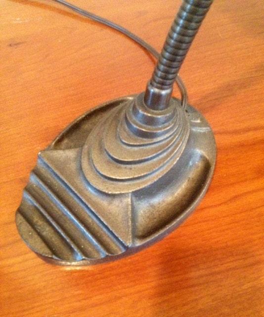 1930 39 s vintage industrial art deco cast iron by - Deco vintage industriel ...