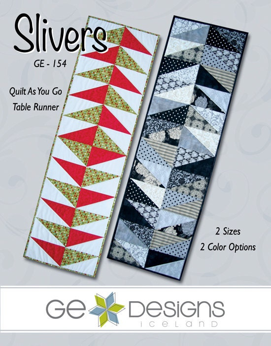 Slivers - Table Runner Pattern