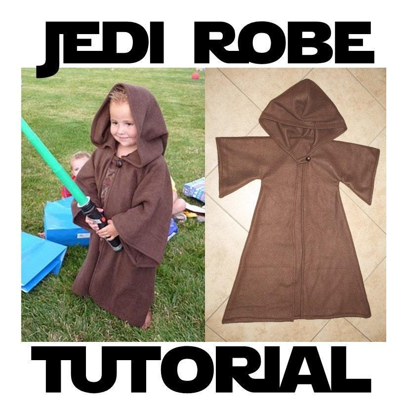 Jedi Robe Costume Pattern Amp Tutorial By Bayberrycreek On Etsy