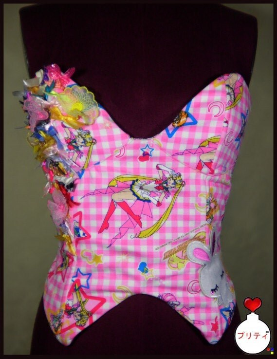 Sailor Moon Kawaii Corset.