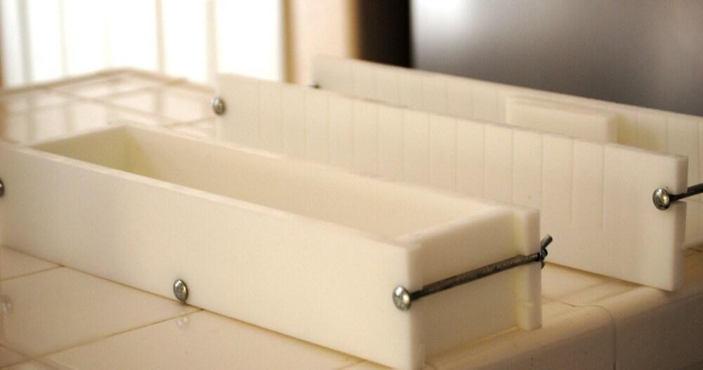 No line non stick soap mold and soap cutter mold by LaveMeSoapCo