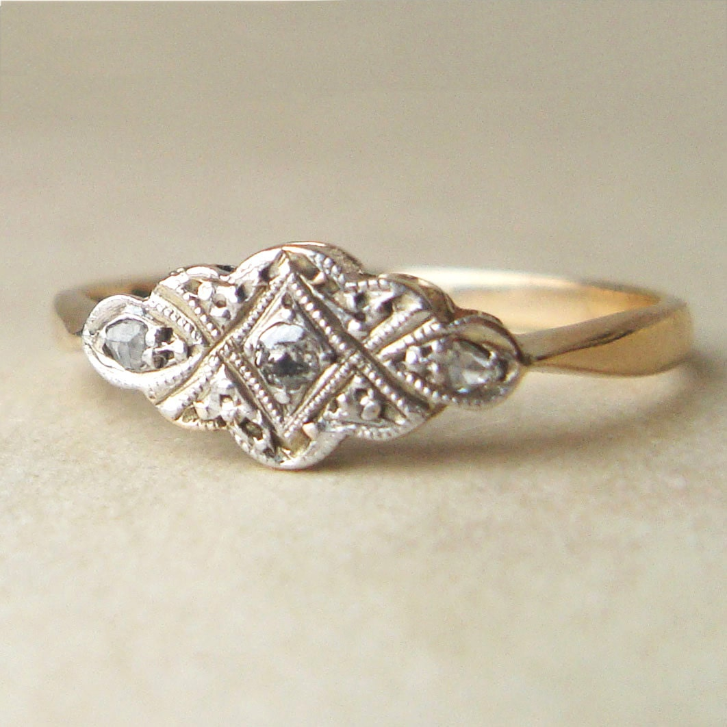edwardian engagement ring antique by