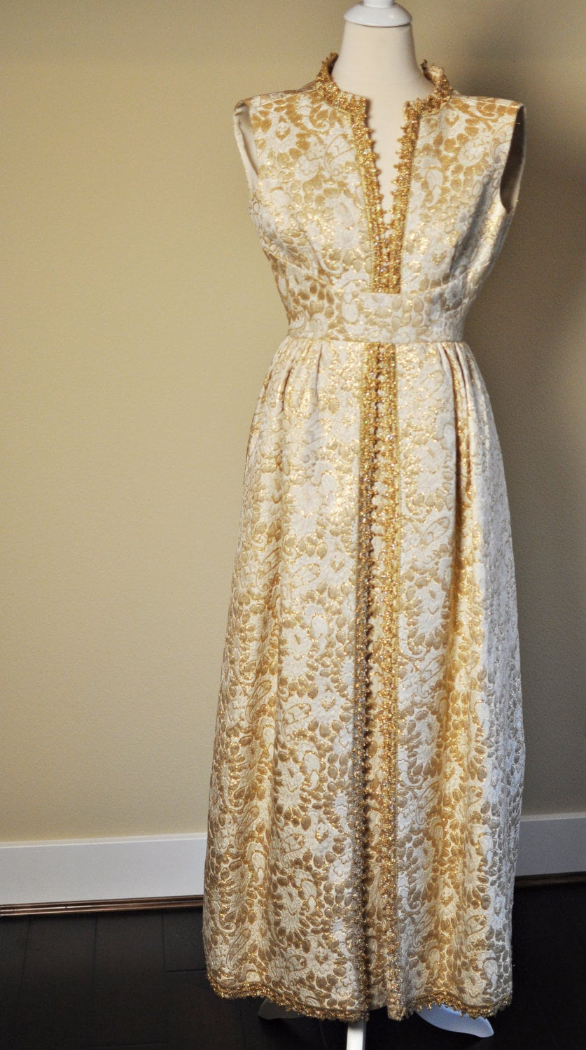 1960s High Quality Gown by Wilson Folmar for Montaldo's