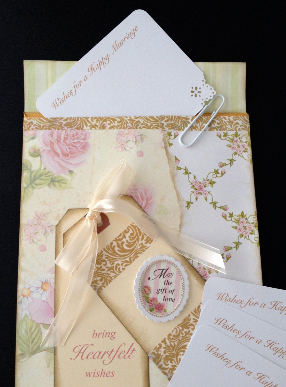 Cards Wish Cards Shower Favor Wish Cards With Envelope Holder