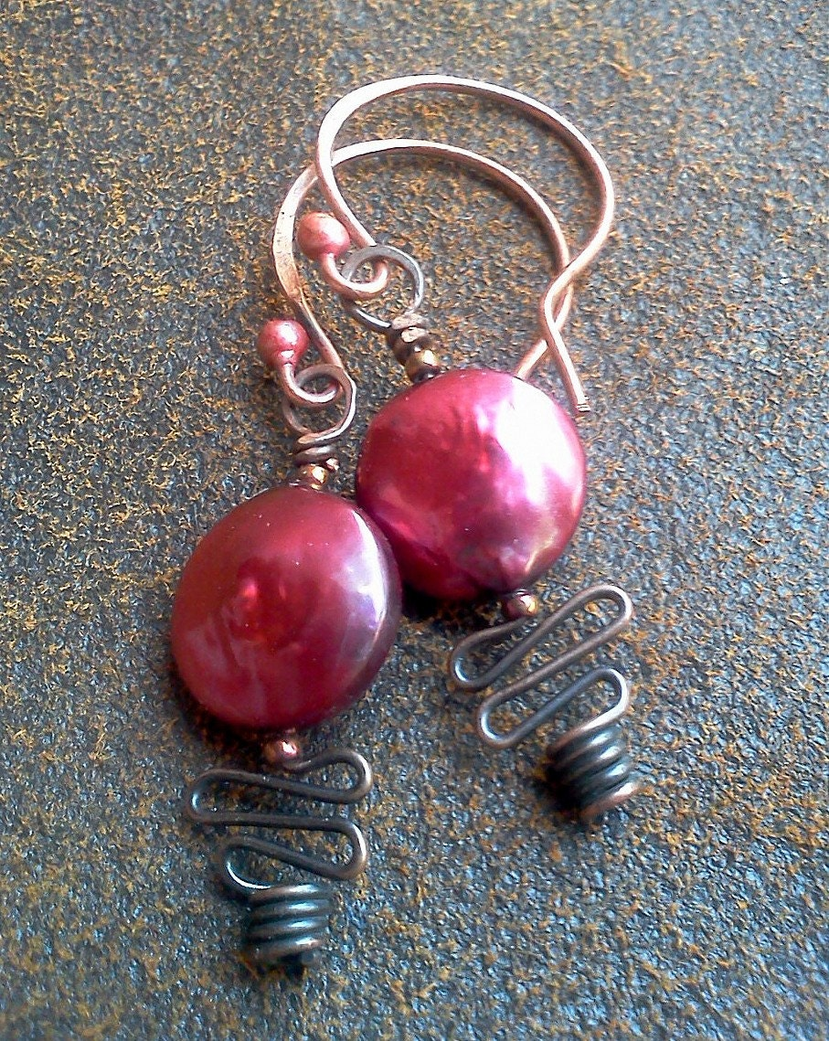 Blush Pearl Earrings