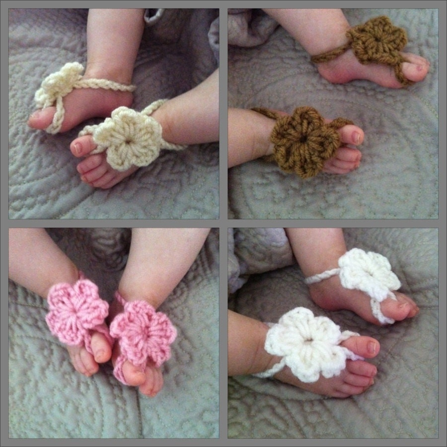 instructions for making barefoot sandals
