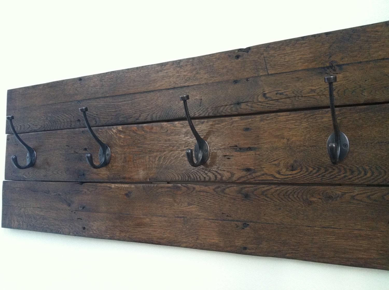 Reclaimed Wood Coat Rack By FamaCreations On Etsy