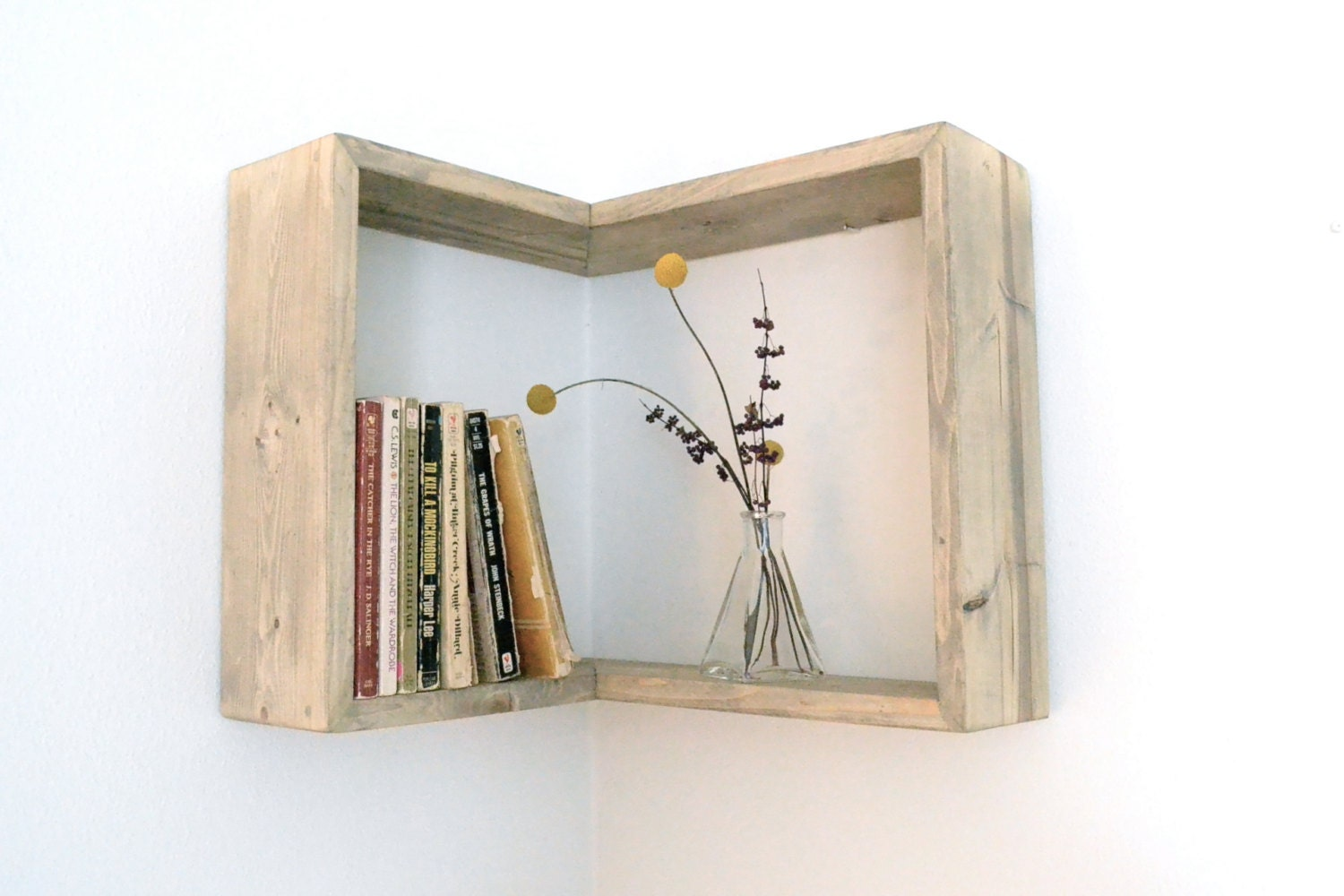 Corner Box Shelf - The807