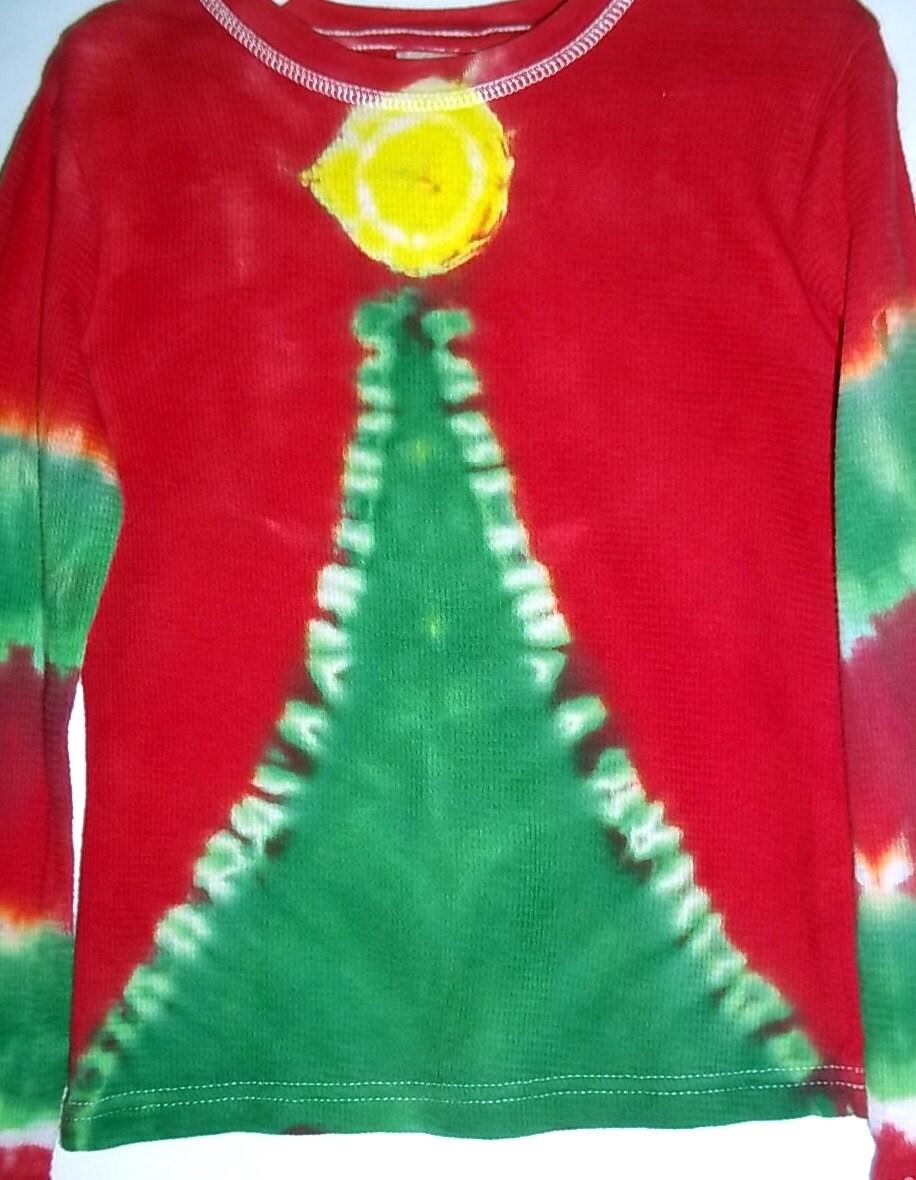 tie dye christmas tree - photo #36