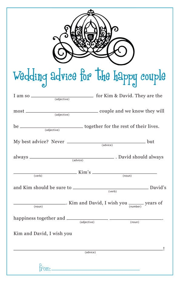 Fabulous image with regard to bridal shower mad libs printable