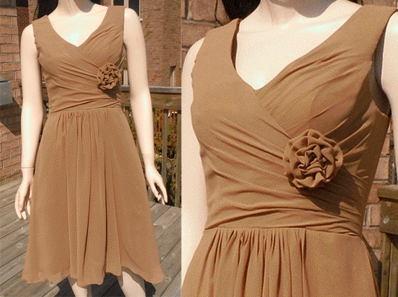 Brown bridesmaid dresses in gorgeous