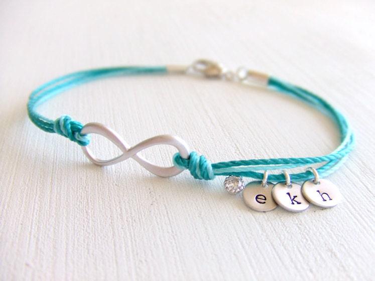 infinity friendship jewelry bracelet family by lycheekiss