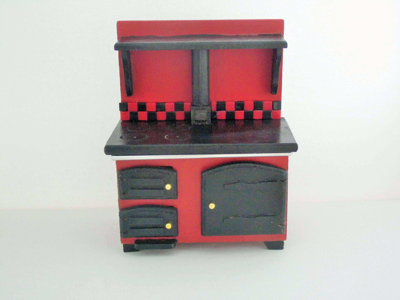 doll house furniture  miniature furniture 12th scale furniture miniatures doll house cooker