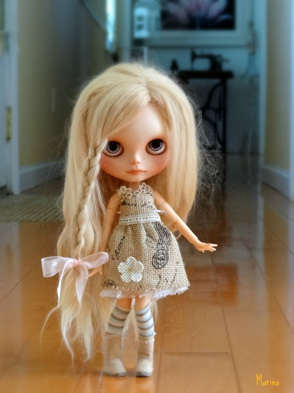 Как сделать матовое лицо кукле