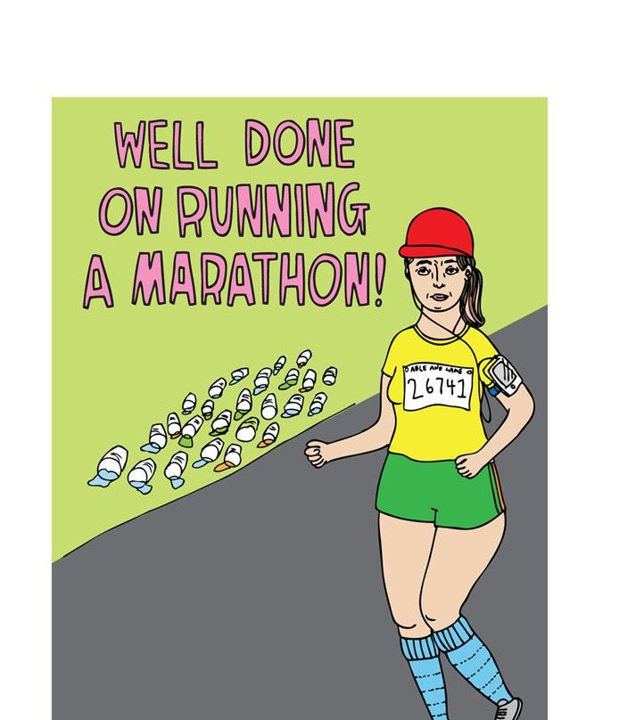 Marathon Congratulations Gallery