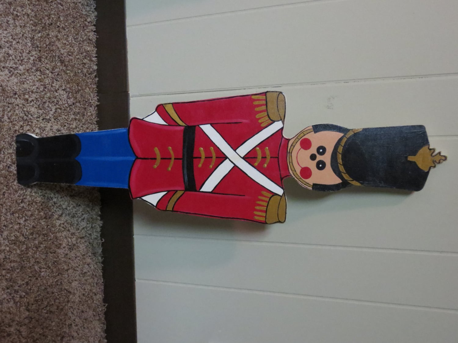 Christmas outdoor toy soldier wood outdoor yard art by for Christmas yard signs patterns