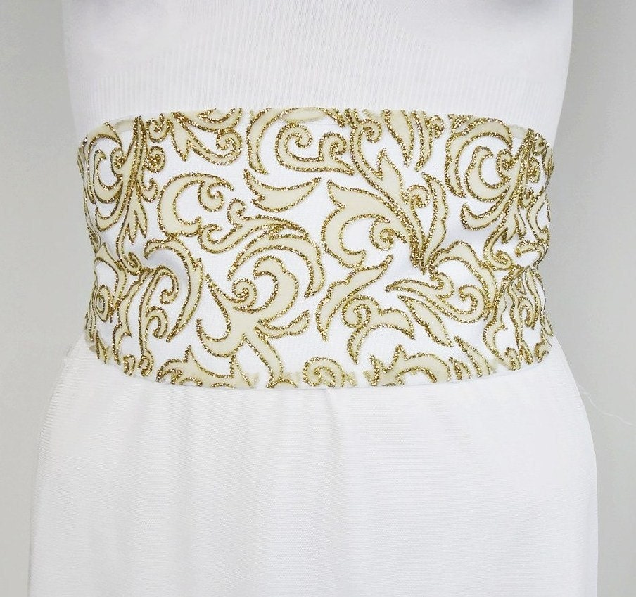 items similar to wedding dress sashes belts wide obi