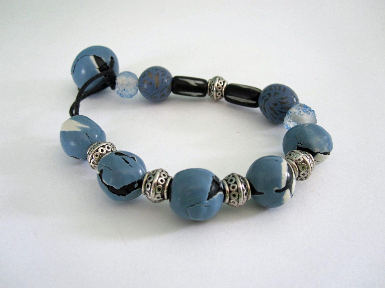 Bracelet, Blue Bracelet, Blue Bracelet of Hope, 7000 Bracelets of Hope - playsculptlive