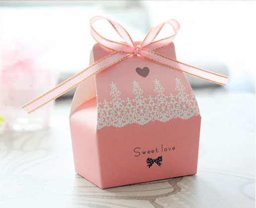 Set of 50 Gift Box with Ribbon - RELOCATION SALE - BestWishesHe