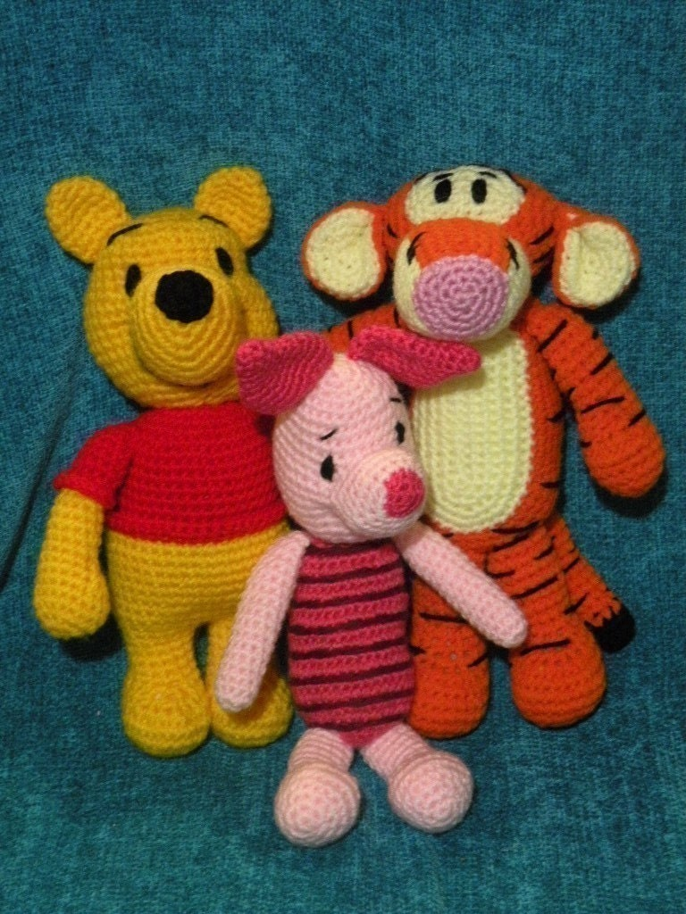 SPECIAL OFFER 6 amigurumi crochet pattern from by ...