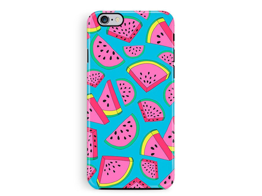 Protective iPhone Case Bumper iphone 6 Case iPhone 5 Case iPhone 6 Case Watermelon iPhone 6 Case Bumper phone case Hipster iphone case