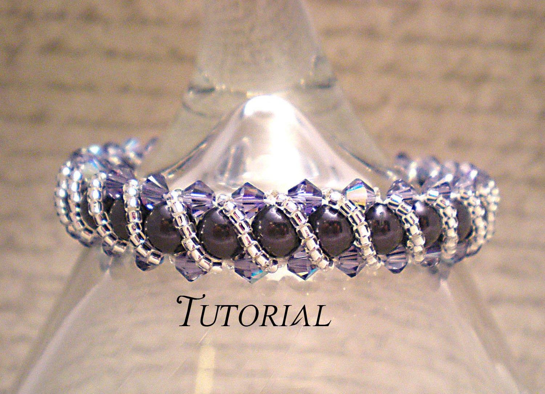 Right Angle Crystal : Tutorial pdf right angle weave swarovski by nitedreamerdesigns