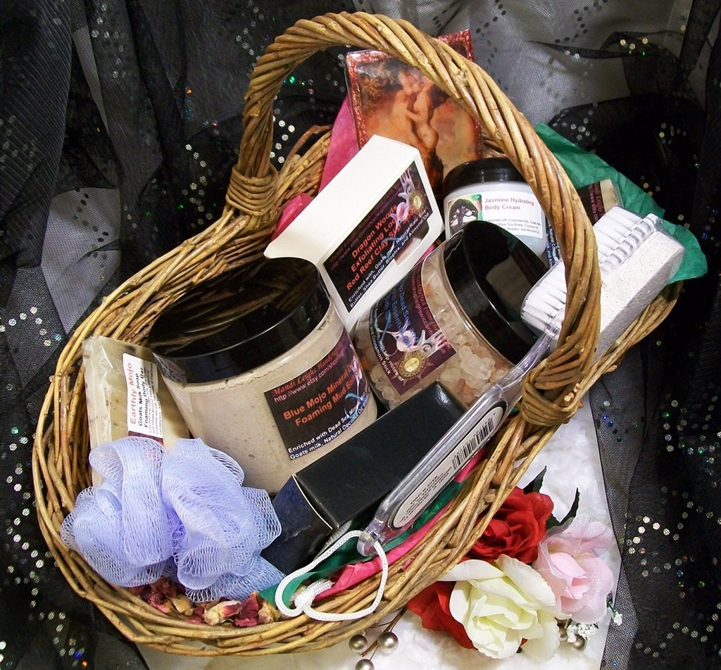 Mothers Day Bath and Body Spa Gift Basket