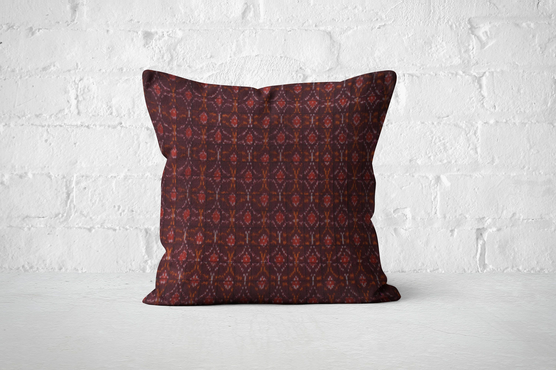 Burgundy Cushion Burgundy throw pillow Maroon geometric pillow 2017 trending Sofa Pillow Cover Boho cushion Texture 18X18 cushion