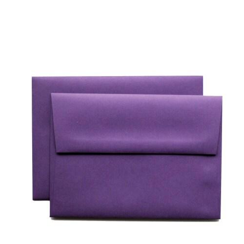 25 a7 vino purple envelopse for elegant 5x7 cards by