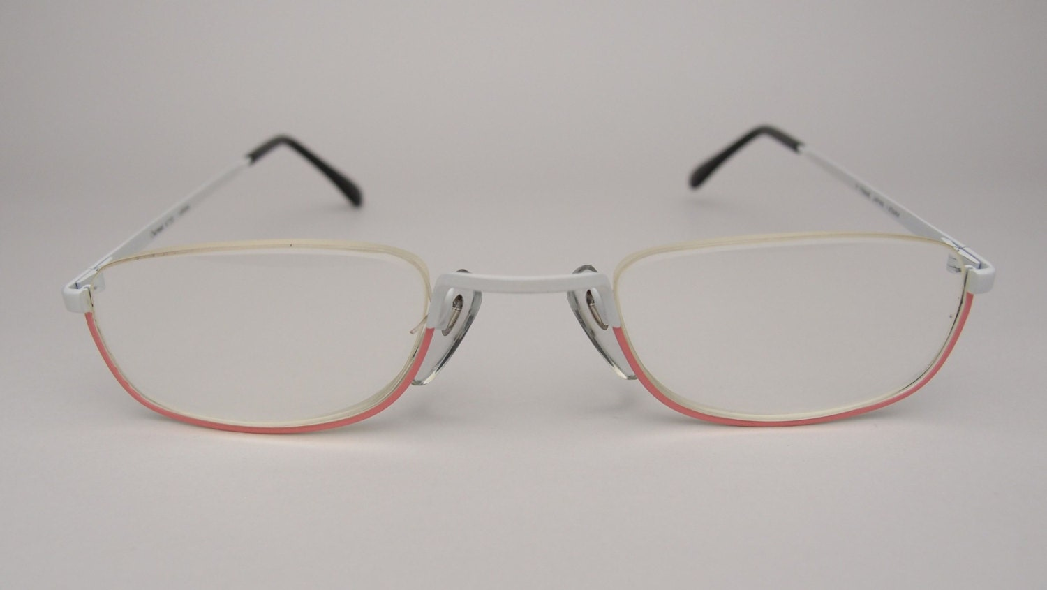 Rimless Eyeglass Frames With Cable Temples : pink eyeglass frames on Etsy, a global handmade and ...