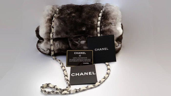 Chanel bag coco chanel handbag chanel rabbit fur designer bag chanel shoulder bag chanel clutch chanel classic authentic chanel new